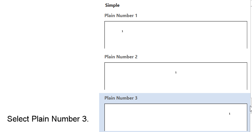 Step 3: Place the page number against the right margin to format the page number in APA style